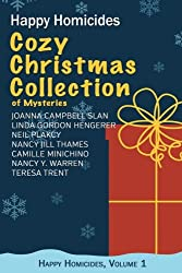 Cozy Christmas Collection of Mysteries: Happy Homicides, Volume 1