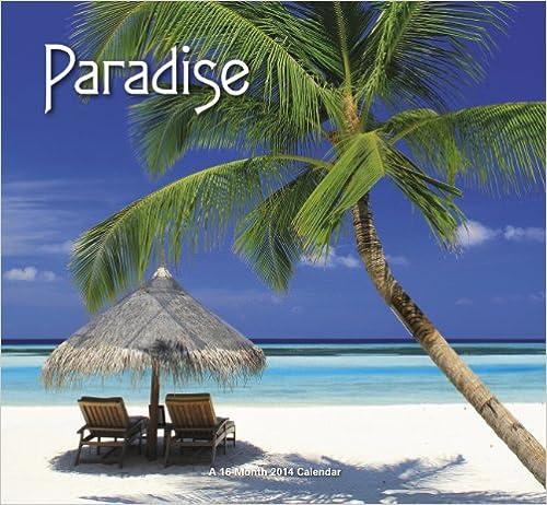 2014 Paradise Mini Calendar
