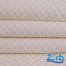 Pre-Activated 3D Zorb Organic Cotton Dimple Diaper Super Absorbent Fabric (Made in USA, sold by the yard)