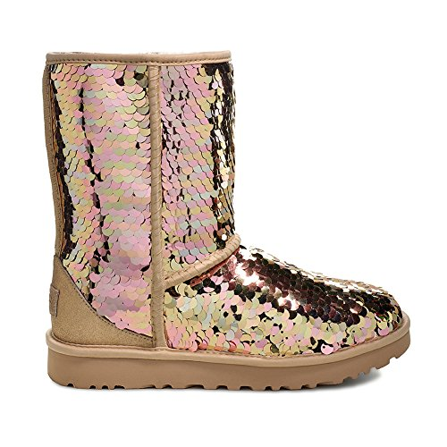 UGG Women's W Classic Short Sequin Fashion Boot,