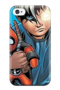 Hard Plastic Iphone 4/4s Case Back Cover,hot Cable And Deadpool Case At Perfect Diy