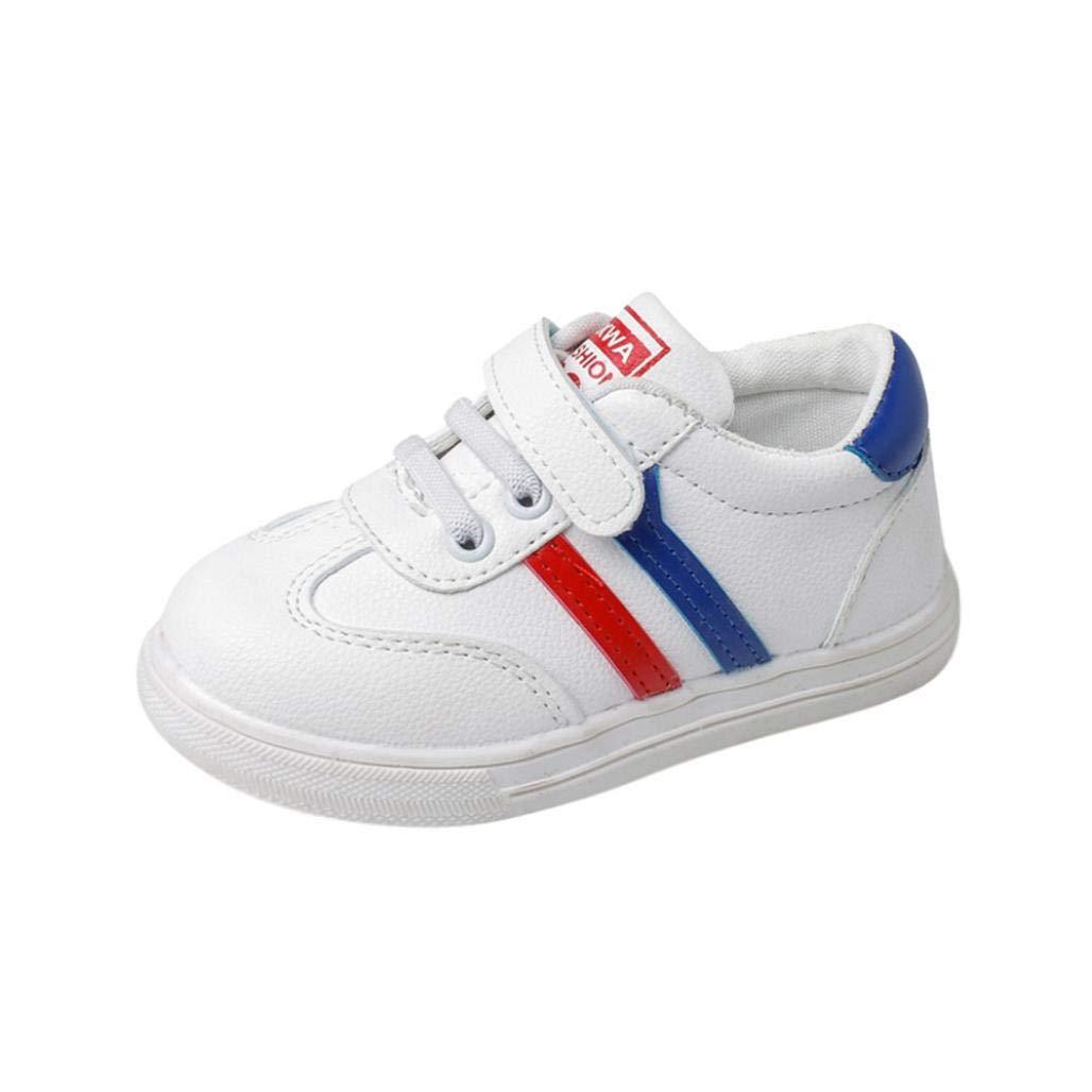 GongzhuMM Sneakers Basses Mixte Enfant,Chaussures Bébé en Cuir,Premier Pas Bébé 1 Ans-6 Ans