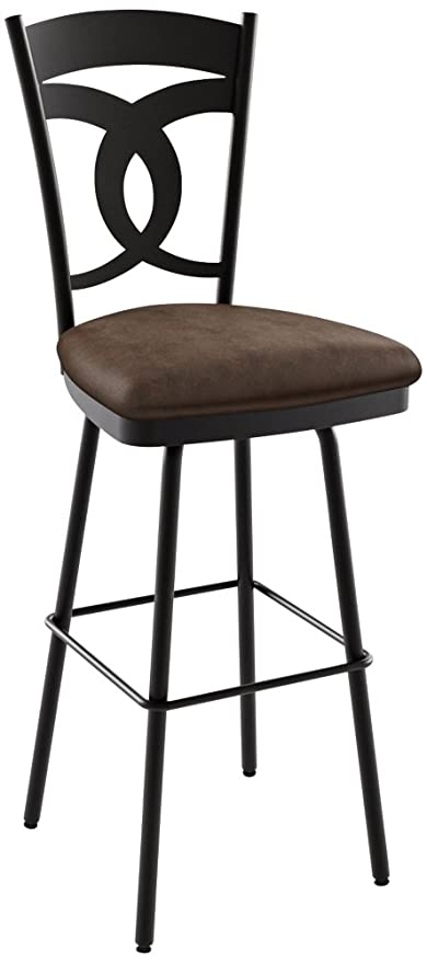 Amazoncom Amisco Valley Swivel Counter Stool 26 In Kitchen Dining