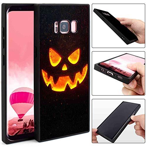 Pumpkin Lantern Square Edge Case Compatible Samsung Galaxy S8 (5.8inch)