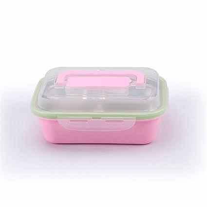 Aislamiento lunch box doble cubierta de horno microondas portátil cámara box lunch: acero inoxidable 304