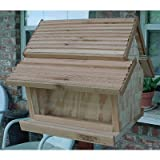 Dual Bin Hopper Feeder w/Cedar Roof Review