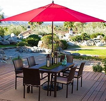 Offset Patio Umbrella Large Outdoor Umbrella Sun Shades For Patios