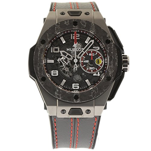 Hublot Big Bang 45mm swiss-automatic mens Watch 401.NJ.0123.VR (Certified Pre-owned)