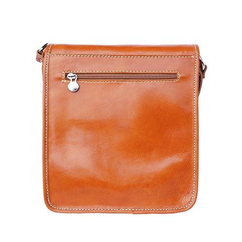 El Bolsa Correa Para Bronceado Florence 6515 Leather Market Con Hombro qAxw1YF