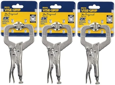 Irwin6SPVise-Grip C-Clamp With Swivel Pads-6