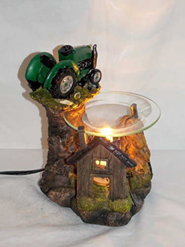 New John Deere Big Green Tractor Fragrance Oil Burner Tart Warmer With Dimmer