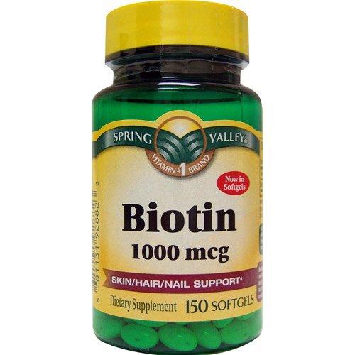 Spring Valley - Biotin 1000 mcg, 150 Capsules