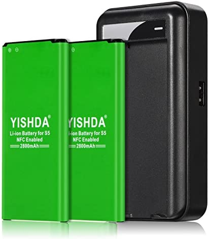 YISHDA Batteries 2x2800mAh Replacement Compatible product image