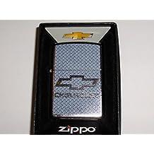 Zippo Chevrolet Chevy Diamond Plate Chrome Lighter 01681