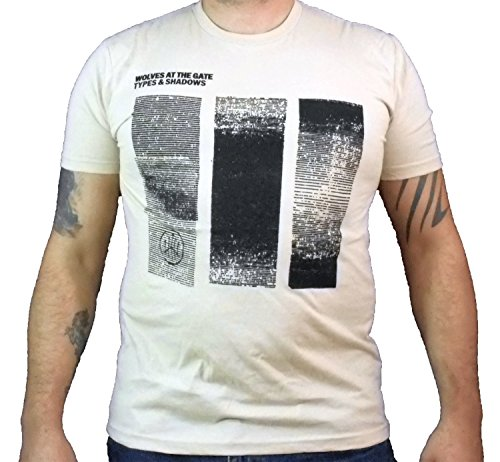 Ivory Wolves - WOLVES AT THE GATE (Types & Shadows) Men's T-Shirt