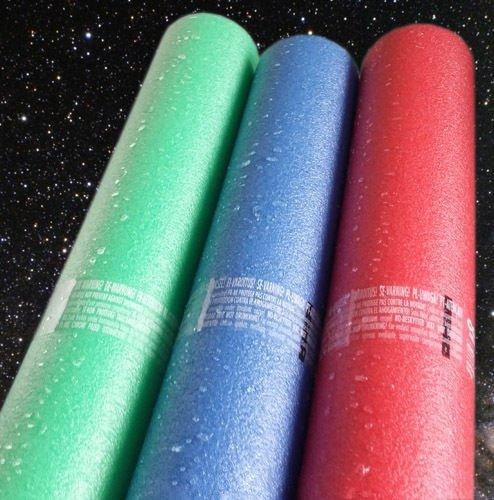 Tallarines de la piscina flotador armacell juguete 1,6 m - Star Wars espada colores Triple Pack: Amazon.es: Deportes y aire libre