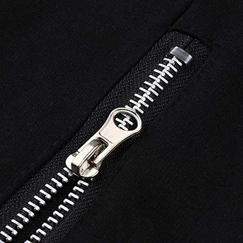 Pantalones Patchwork Pantalón Botón Casual Hombres Para Largos Sólidos Sueltos Hombre moda F Chándal rxg8rB1