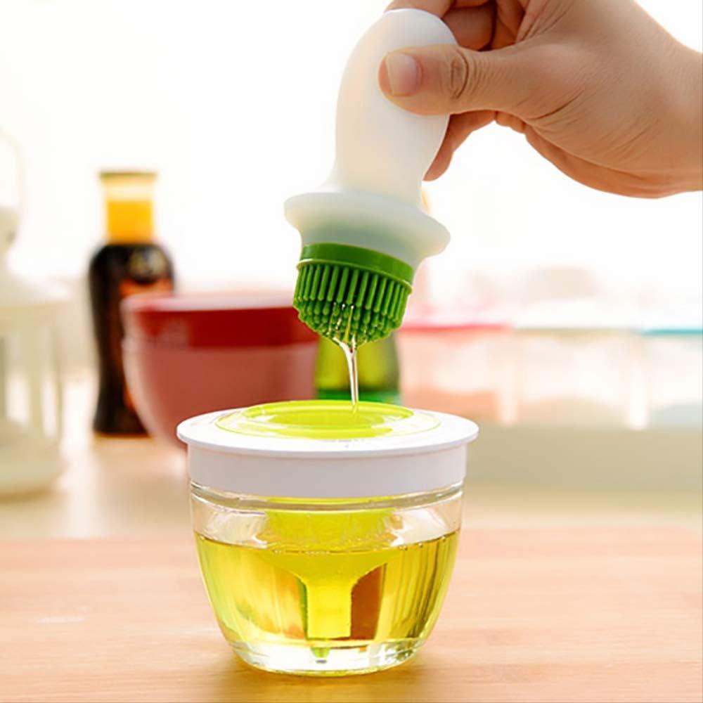 Cepillo de silicona resistente a altas temperaturas, para barbacoa, aceite, botella de cristal, para repostería, barbacoa, utensilios de repostería