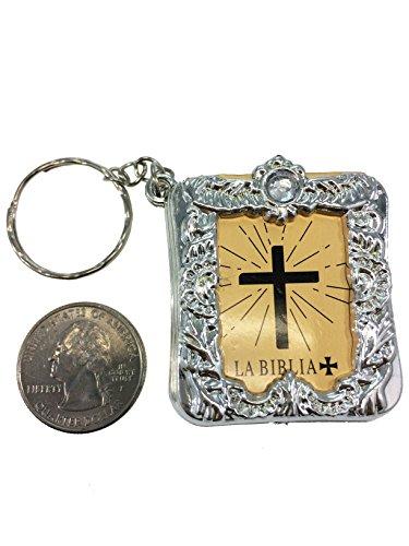 Gold Mini Keychain - LA Crafts Spanish or English Mini 1.75