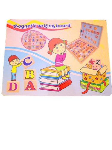 Lavagna Magnetica a valigetta con alfabeto in legno ilshopping