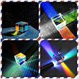 JZENT 20mm Optical Glass Prism RGB Dispersion Prism