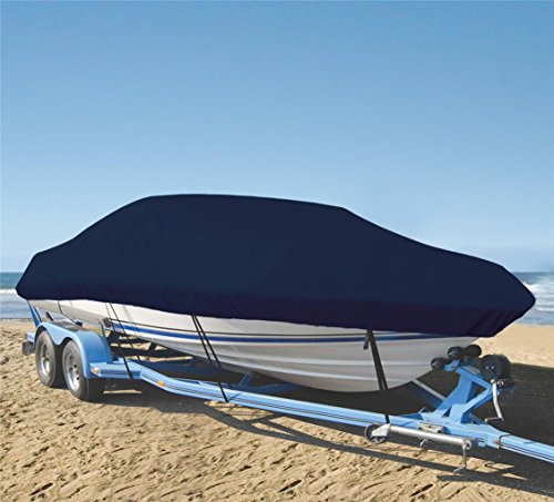SHT-SBU 9oz Boat Cover Custom Cover Exact FIT for BAYLINER Capri 1750 LSV I/O 1998-2000