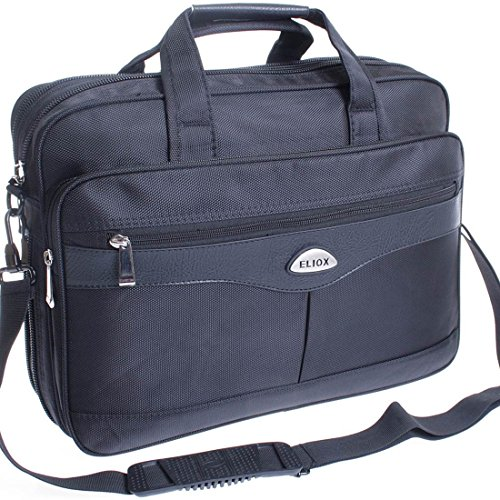 Messenger-Bag (EILOX) , Borsa Messenger  Nero nero
