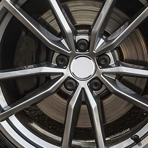 Amazon.com: Tapas cromadas para centro de neumático ...
