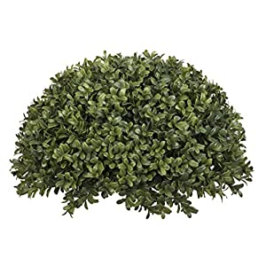 """House of Silk Flowers Artificial Boxwood Half Ball, 13"""" 47"""