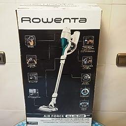 Rowenta Air Force 360 MAX Aspiradora versátil, 6.500 RPM, Blanco y Lila: Amazon.es: Hogar