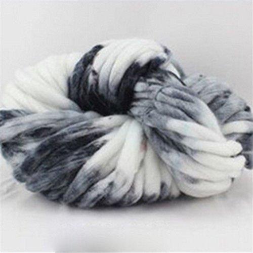 Handmade Cashmere Yarn, Super Soft Roving Knitting Crochet Big Wool Yarn