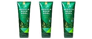 Bath & Body Works Vanilla Bean Noel Body Cream 2018 Edition - Lot of 3