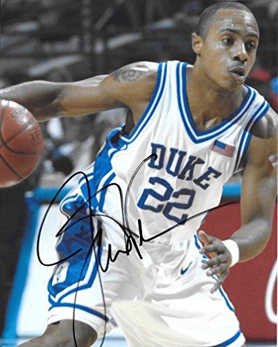 Jay Williams, Duke Blue Devils, Signed, Autographed, 8x10, P