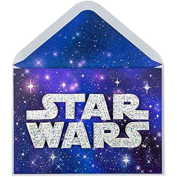 NEW Papyrus Star Wars Fabulous Darth Vader Birthday Card Amazing