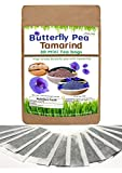 New Tamarind Powder Tea With Butterfly pea Powder Tea 30 mini bags The Best Tea for Enjoy and Relax Time Every day.