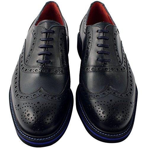 Oliver exclusivo Paris Richelieus, zapatos de hombre para hombre Azul - azul