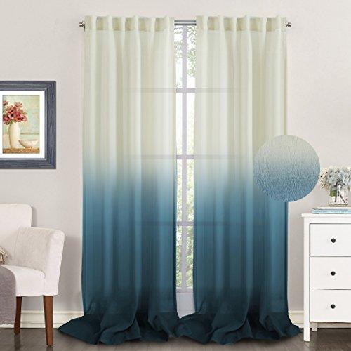 TURQUOIZE Curtains Translucence Decorative curtains product image