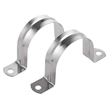 Two-part pipe clamp 250mm