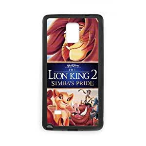 Samsung Galaxy Note 4 Cell Phone Case Black Lion King 001 YW5023037