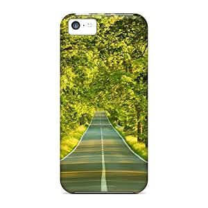 BestSellerWen iPhone 5 5s Case Bumper Tpu Skin Cover For Green Road Accessories