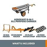 WORX WG050 Aerocart 8-in-1 2-Wheel