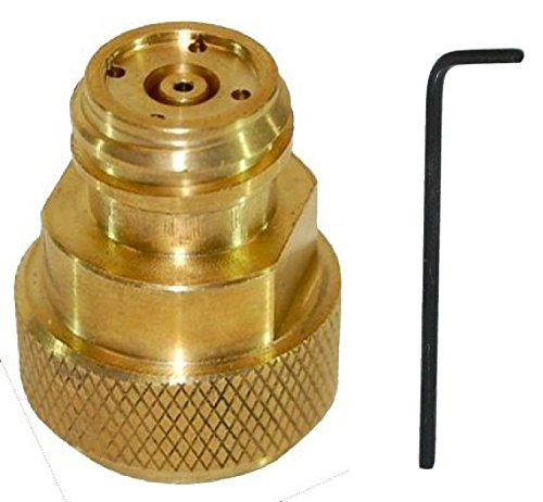 NISPIRA CO2 Conversion Adapter for Soda Machine Tank Canister