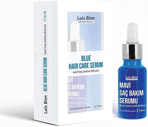 Luis Bien Serum azul para el crecimiento del cabello Mavi Su contra la caída del cabello