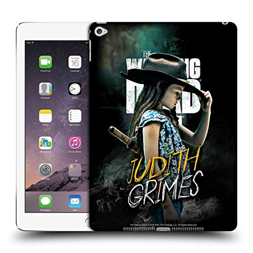 Official AMC The Walking Dead Judith Grimes Season 9 Quotes Hard Back Case Compatible for iPad Air 2 (2014)