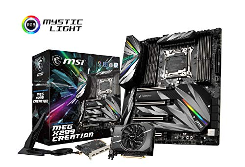 MSI Motherboards MEG X299 Creation (Renewed)