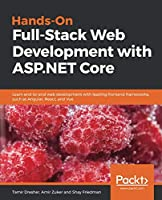 Hands-On Full-Stack Web Development with ASP.NET Core Front Cover