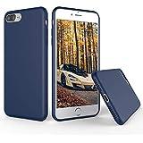 iPhone 8 Plus Silicone Case, iPhone 7 Plus Silicone Case, Weduda Gel Rubber Phone Case Full Body Protection Case Shockproof PC Cushion Apple iPhone 8 Plus(2017)/iPhone 7 Plus(2016) - Blue