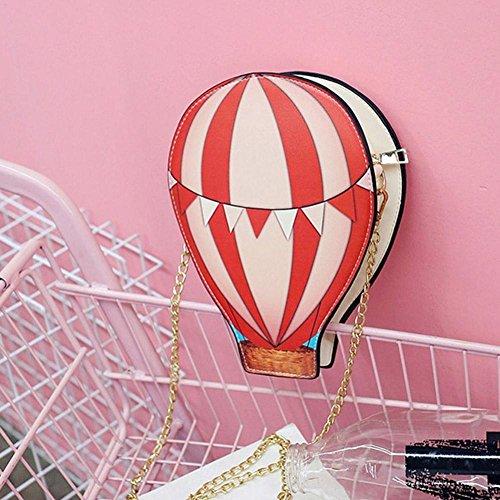 Femmes Distinctif Air Ballon Messenger bandouliere Sac SODIAL en Sacs PU Sac a Creatives Cuir Main Bandouliere Bandouliere qEawxnI1