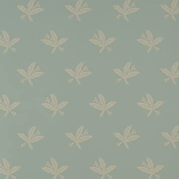 Warner Fabrics Flat Patterned Design Kitchen And Living Room Wallpaper Roll Blue WGVP701