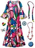 Sanctuarie Designs Daydream Hippie Dress Plus Size Supersize Halloween Costume